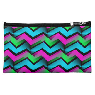 Electric Rainbow Cosmetic Bags