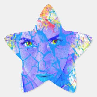 Electric Reality Star Sticker