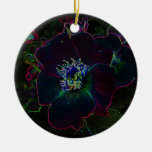 Electric Rose Christmas Ornaments
