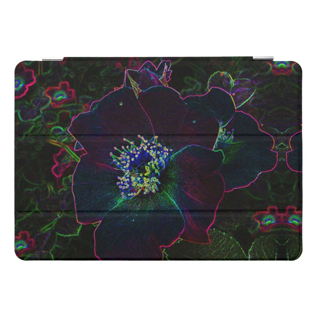 Electric Rose Flower Abstract 10.5 iPad Pro Case