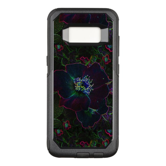 Electric Rose Flowers OtterBox Galaxy S8 Case