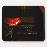 electric rose mouse mat