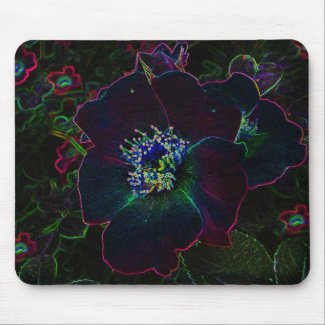 Electric Roses mousepad