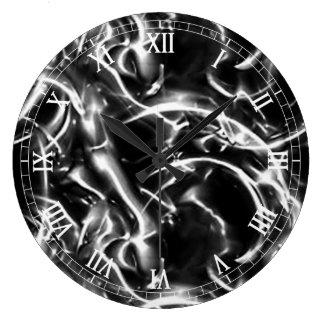 Electric Round Roman Numerals Clock