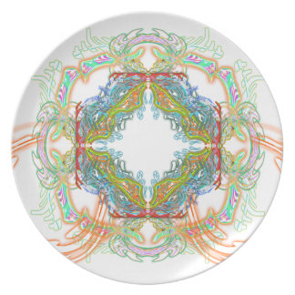 Electric Scream Plate