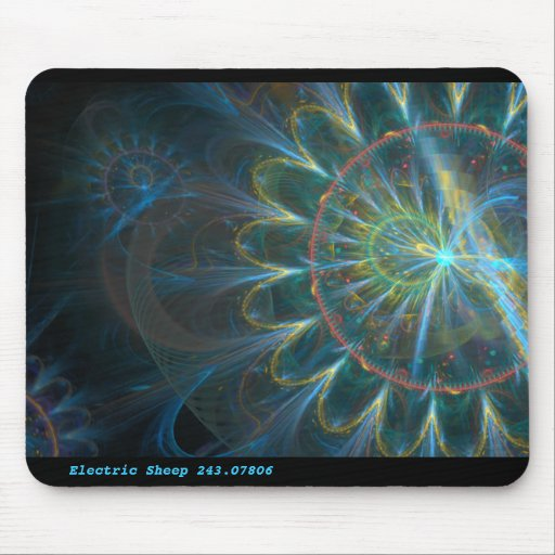 Electric Sheep 243.07806 Mouse Pads