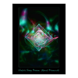 Electric Sheep Dream of Diamonds Poster