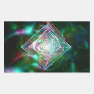 Electric Sheep Dream of Diamonds Rectangular Sticker