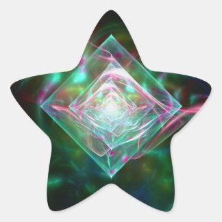 Electric Sheep Dream of Diamonds Star Sticker
