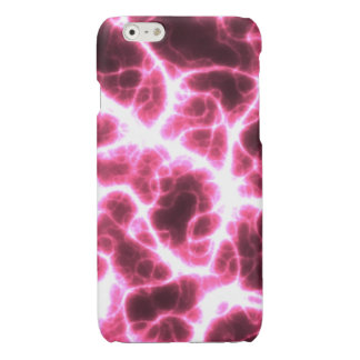 Electric Shock in Pink Glossy iPhone 6 Case