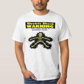 Electric Shock Warning Tshirt