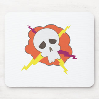 Electric Skull Mousepads
