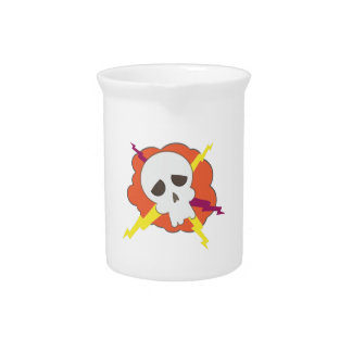 Electric Skull Drink Pitchers