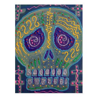 Electric Skull Postcards