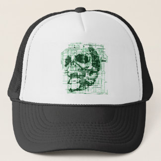 Electric Skull Trucker Hat
