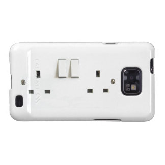 Electric socket from the UK Galaxy SII Case