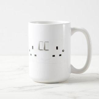 Electric socket from the UK Coffee Mug