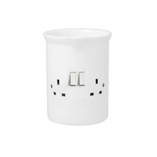 Electric socket from the UK Drink Pitcher