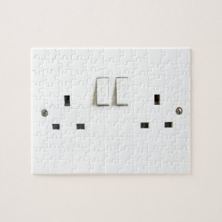 Electric socket from the UK Jigsaw Puzzle