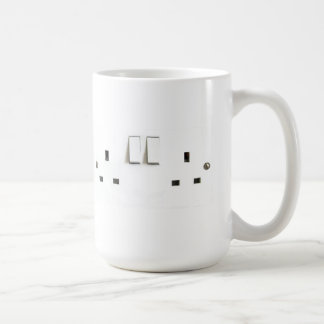 Electric socket from the UK Classic White Coffee Mug
