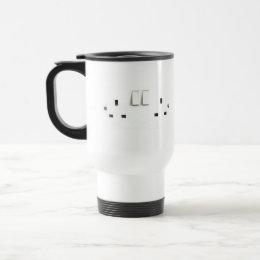 Electric socket from the UK Travel Mug