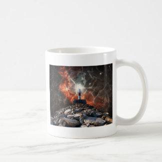 Electric Space Lights Coffee Mug