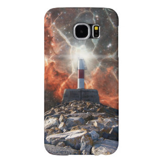 Electric Space Lights Samsung Galaxy S6 Case