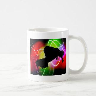 Electric Spectrum Skateboarder Coffee Mug