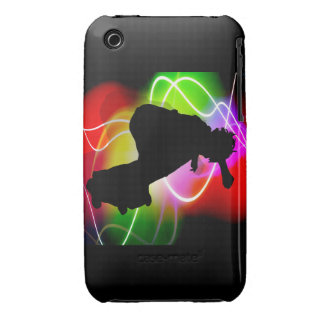 Electric Spectrum Skater iPhone 3 Case