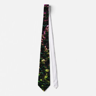 Electric Squiggles Tie