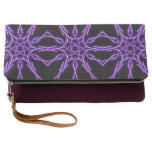 electric star connections clutch bag
