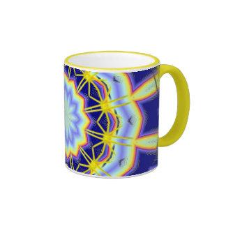 Electric Starburst Design Coffee Mugs