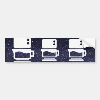 Electric Stoves Minimal Car Bumper Sticker