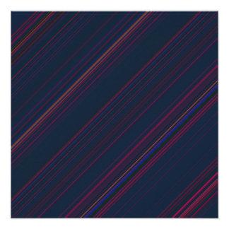 Electric Stripes Invitation