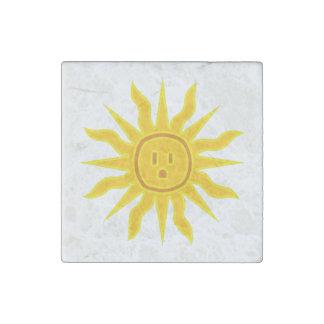 Electric Sun Stone Magnet