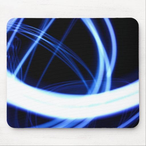 Electric swirl mousemat