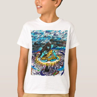 electric time travelling shiva T-Shirt