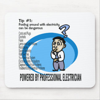 Electric Tip #1 Mouse Pad
