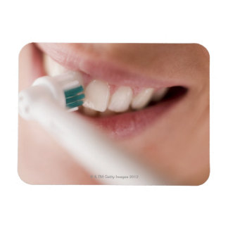 Electric toothbrush. These devices have a motor Rectangular Photo Magnet