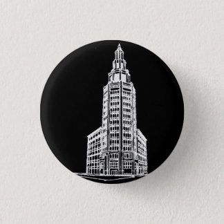 Electric Tower in Black Button