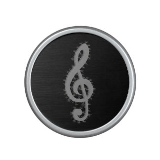 Electric Treble Clef Bluetooth Speaker