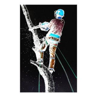 Electric  Tree Surgeon Arborist stihl chainsaw Stationery