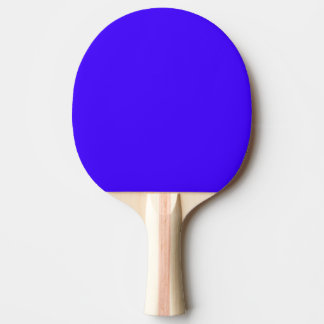 Electric Ultramarine Modern Color Design Ping Pong Paddle