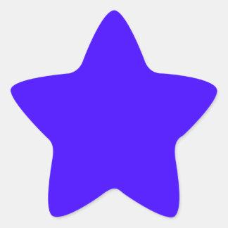 Electric Ultramarine Star Sticker