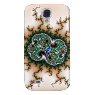 Electric Universe Fractal Pattern Galaxy S4 Cover