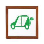 Electric Vehicle EV Icon Logo - Pencil Holder