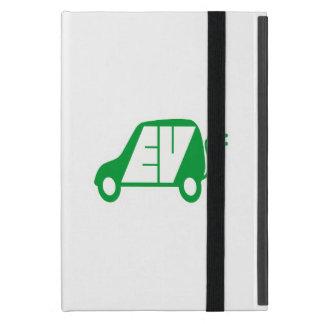 Electric Vehicle Green EV Icon Logo - Covers For iPad Mini
