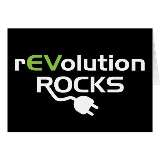 Electric Vehicles Rocks Card