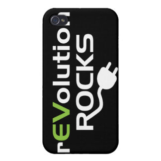 Electric Vehicles Rocks iPhone 4/4S Cases