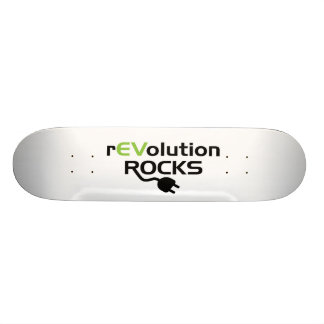 Electric Vehicles Rocks Skateboard Decks
